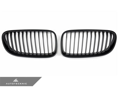 Shop AutoTecknic Replacement Stealth Black Front Grilles - E92 Coupe / E93 Cabrio | 3 Series LCI - AutoTecknic