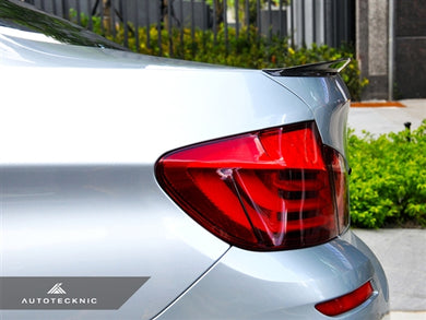 AutoTecknic Vacuumed Carbon Fiber Performante Trunk  Spoiler - F10 5-Series Sedan (2011-Up)