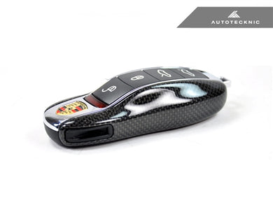 Shop AutoTecknic Replacement Carbon Fiber Key Cover - Porsche - AutoTecknic