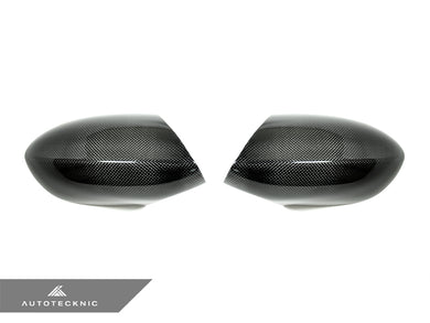 Shop AutoTecknic Replacement Carbon Fiber Mirror Covers - BMW E90/ E92/ E93 M3 | E82 1M - AutoTecknic