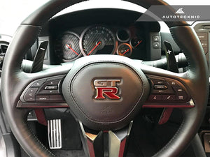 Shop AutoTecknic Painted Competition Shift Paddles - Nissan R35 GT-R 2017-Up - AutoTecknic