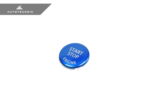 Shop AutoTecknic Royal Blue Start Stop Button - BMW E-Chassis Vehicles - AutoTecknic