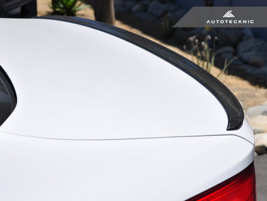 Shop AutoTecknic Carbon Trunk Lip Spoiler - BMW G30 5-Series | F90 M5 - AutoTecknic