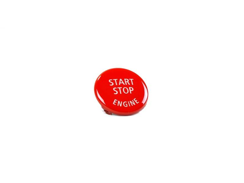 Shop AutoTecknic Bright Red Start Stop Button - BMW E-Chassis Vehicles - AutoTecknic