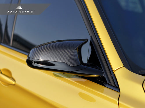 Shop AutoTecknic Replacement Version II Dry Carbon Mirror Covers - F87 M2 Competition | F80 M3 | F82/ F83 M4 - AutoTecknic