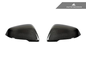 Shop AutoTecknic Replacement Carbon Fiber Mirror Covers - BMW F48 X1 | F45/ F46 2-Series - AutoTecknic
