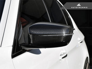 Shop AutoTecknic Replacement Version II Dry Carbon Mirror Covers - G30 5-Series | G32 6-Series GT | G11 7-Series - AutoTecknic