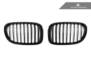 Shop AutoTecknic Replacement Glazing Black Front Grilles - F01/ F02 7-Series LCI - AutoTecknic
