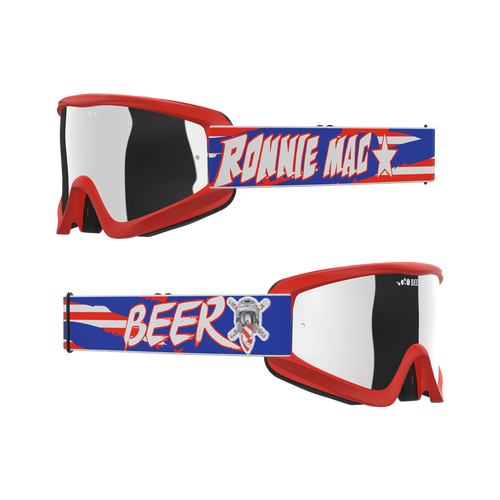 Ronnie Mac Red, White and Beer Goggles