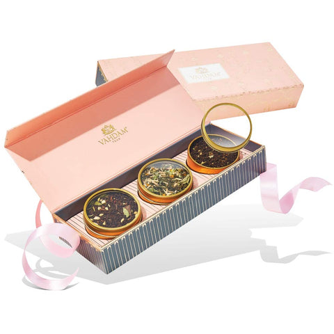 BLUSH Assorted Teas Gift Box -3 Teas