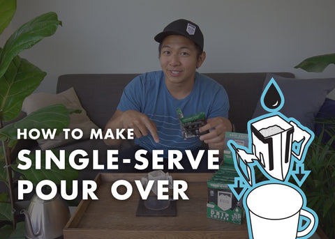 How to Make Single-Serve Pour Over (Video)