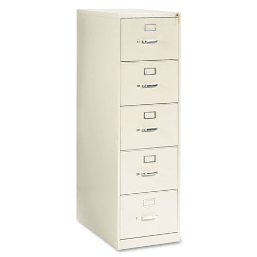 "Five-Drawer Vertical File, Legal, 28 1/2""d"