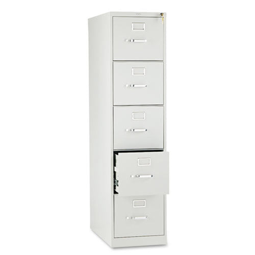 Five-Drawer Vertical File, Letter, 26 1/2""