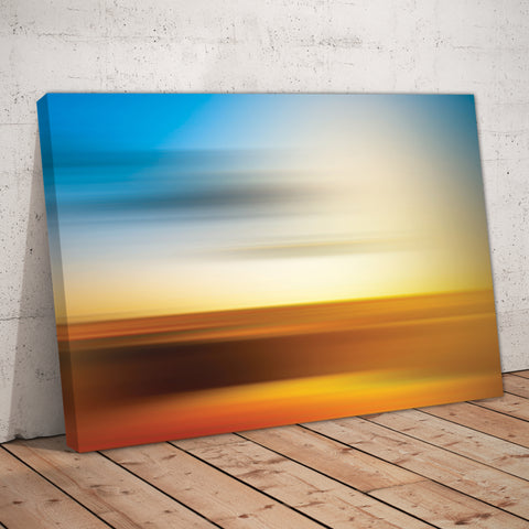 Sunrise Sunset Abstract Art Print