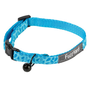 Birds of a Feather Blue Cat Collar