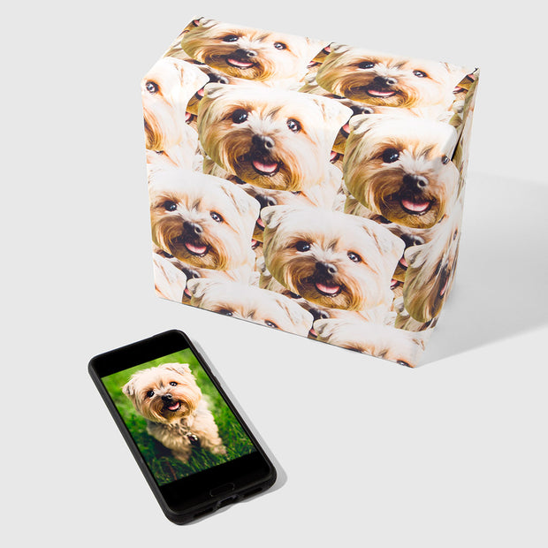 Dog Mash Wrapping Paper