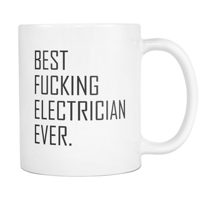 Best Fucking Electrician Coffee Mug