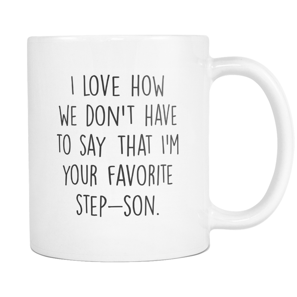 Favorite Step Son Coffee Mug