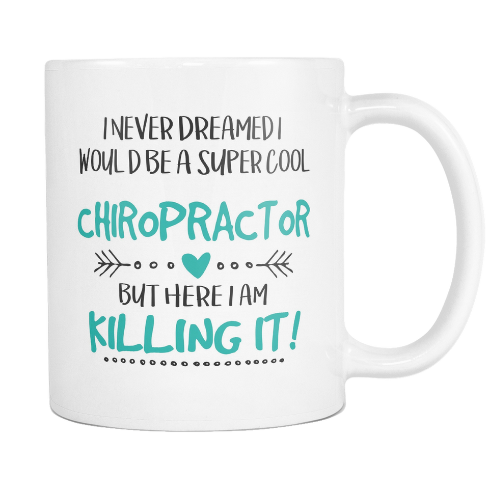 Super Cool Chiropractor Coffee Mug