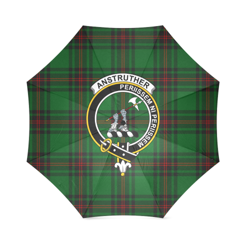 Image of Anstruther Crest Tartan Umbrella TH8