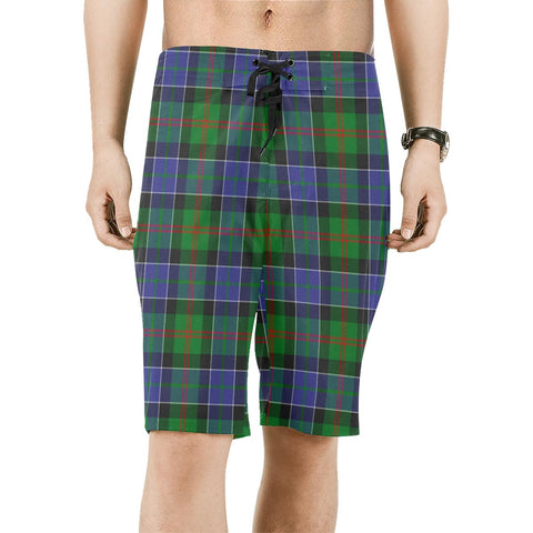 Paterson Tartan Board Shorts | scottishclans.co