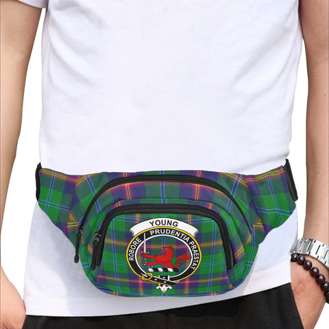 Image of Young Modern Fanny Pack | Tartan Bum Bag | Hot Sale
