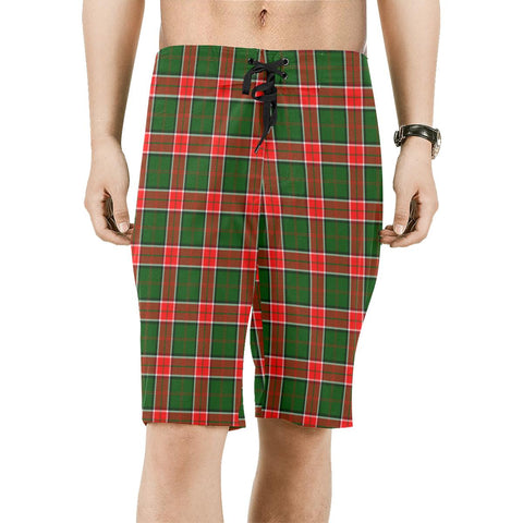 Pollock Modern Tartan Board Shorts | scottishclans.co
