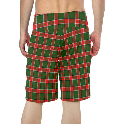 Pollock Modern Tartan Board Shorts TH8
