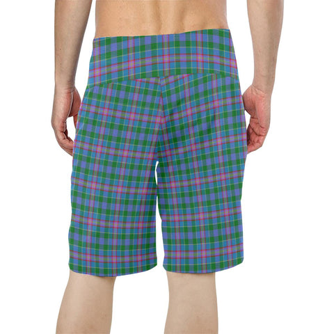 Pitcairn Hunting Tartan Board Shorts TH8