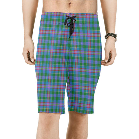 Pitcairn Hunting Tartan Board Shorts | scottishclans.co