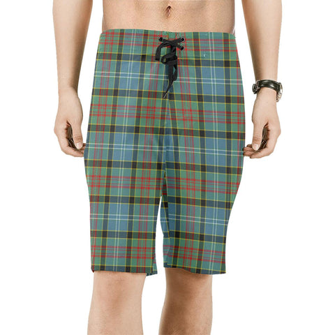 Image of Paisley District Tartan Board Shorts | scottishclans.co