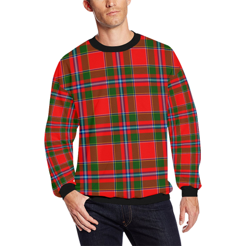 Image of Perthshire District Tartan Crewneck Sweatshirt