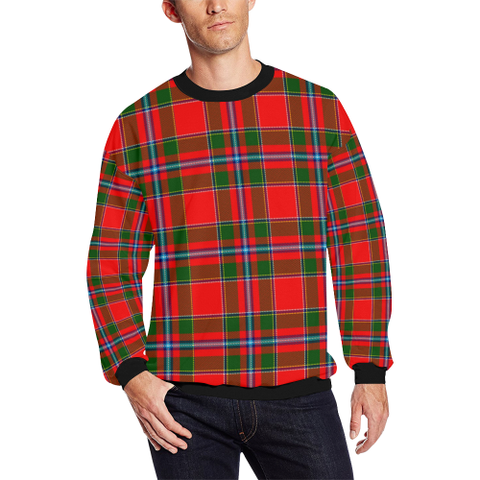 Perthshire District Tartan Crewneck Sweatshirt