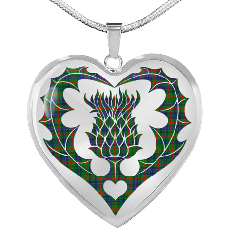 Aiton Tartan Luxury Necklace Luckenbooth Thistle TH8