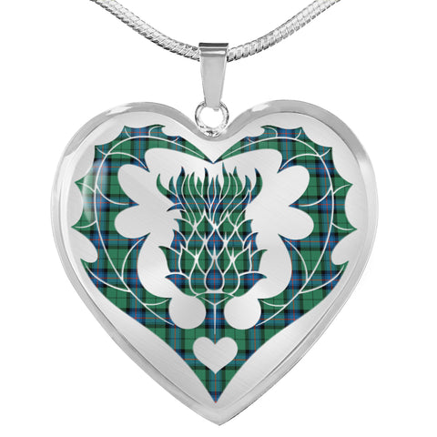 Armstrong Ancient Tartan Luxury Necklace Luckenbooth Thistle TH8