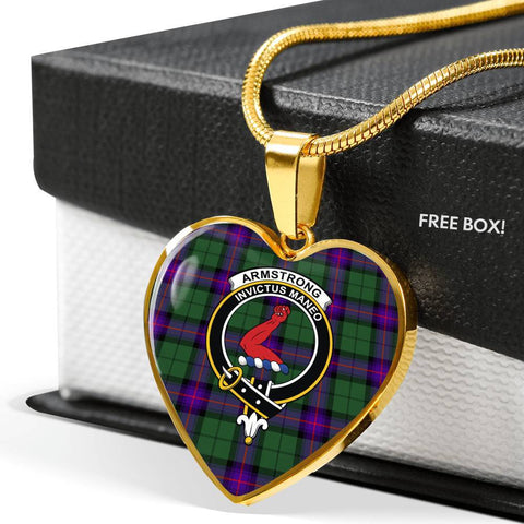 Armstrong Modern Tartan Customize Necklace