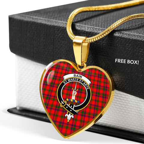 Bain Tartan Customize Necklace