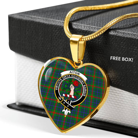Aiton Tartan Customize Necklace