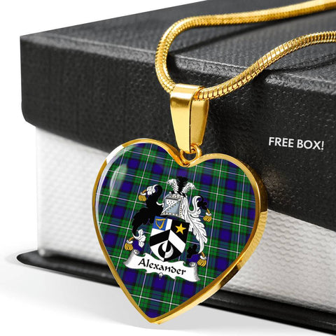 Alexander Tartan Customize Necklace