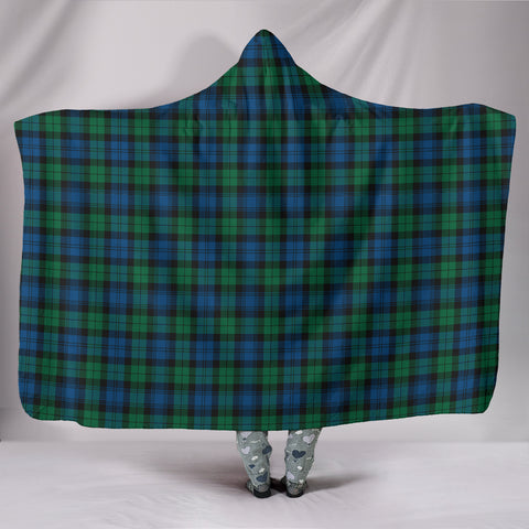 Blackwatch Ancient, hooded blanket, tartan hooded blanket, Scots Tartan, Merry Christmas, cyber Monday, xmas, snow hooded blanket, Scotland tartan, woven blanket