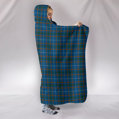 Bain, hooded blanket, tartan hooded blanket, Scots Tartan, Merry Christmas, cyber Monday, xmas, snow hooded blanket, Scotland tartan, woven blanket