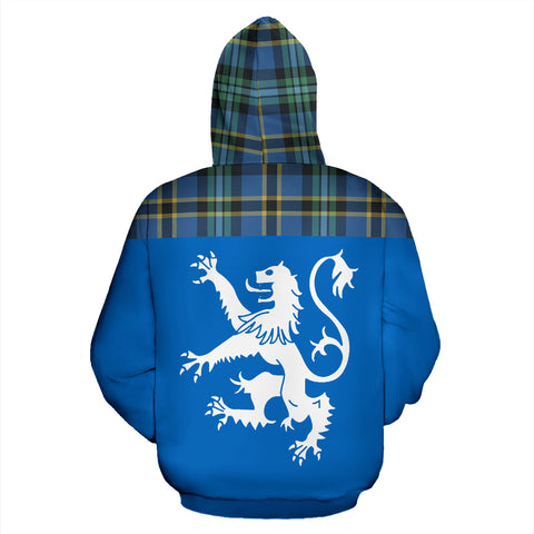 Image of Tartan All Over Hoodie - Lion Weir Ancient