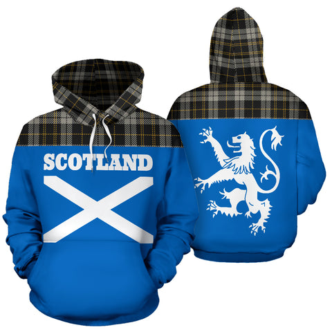 Image of Tartan All Over Hoodie - Lion Coppa Romana