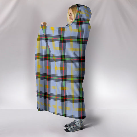 Bell of the Borders, hooded blanket, tartan hooded blanket, Scots Tartan, Merry Christmas, cyber Monday, xmas, snow hooded blanket, Scotland tartan, woven blanket