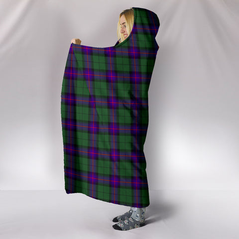 Armstrong Modern, hooded blanket, tartan hooded blanket, Scots Tartan, Merry Christmas, cyber Monday, xmas, snow hooded blanket, Scotland tartan, woven blanket
