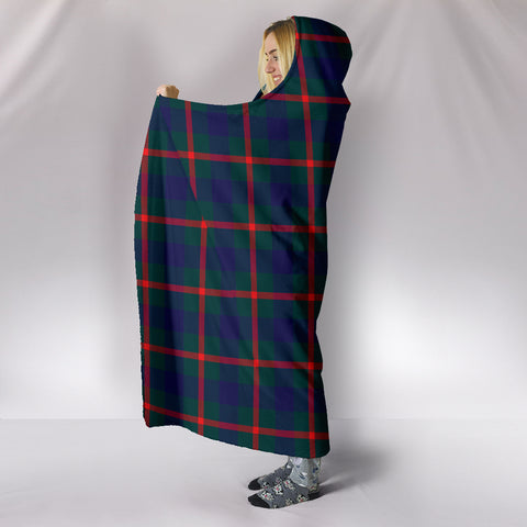 Agnew Modern, hooded blanket, tartan hooded blanket, Scots Tartan, Merry Christmas, cyber Monday, xmas, snow hooded blanket, Scotland tartan, woven blanket