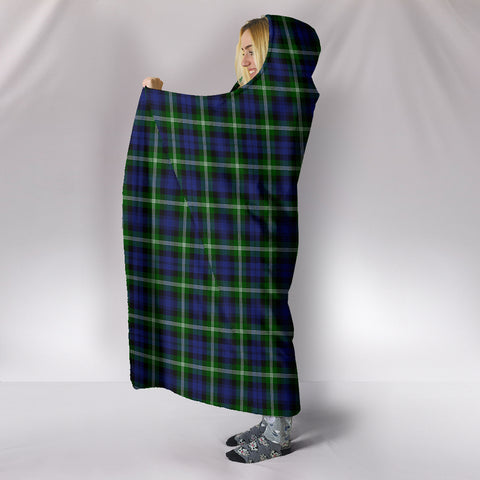 Baillie Modern, hooded blanket, tartan hooded blanket, Scots Tartan, Merry Christmas, cyber Monday, xmas, snow hooded blanket, Scotland tartan, woven blanket