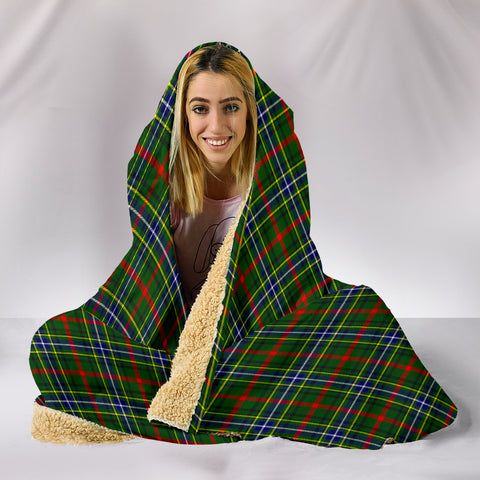 Bisset, hooded blanket, tartan hooded blanket, Scots Tartan, Merry Christmas, cyber Monday, xmas, snow hooded blanket, Scotland tartan, woven blanket