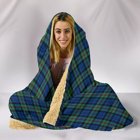 Baird Ancient, hooded blanket, tartan hooded blanket, Scots Tartan, Merry Christmas, cyber Monday, xmas, snow hooded blanket, Scotland tartan, woven blanket