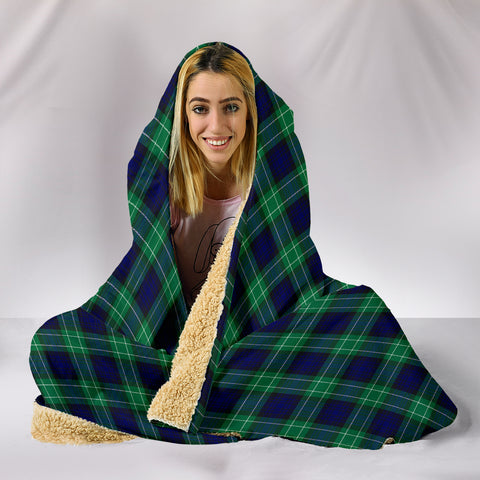 Abercrombie, hooded blanket, tartan hooded blanket, Scots Tartan, Merry Christmas, cyber Monday, xmas, snow hooded blanket, Scotland tartan, woven blanket